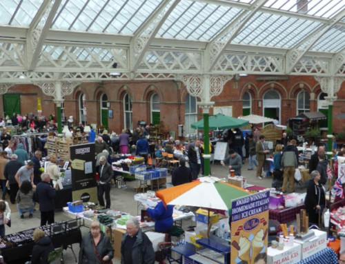 Grab a bargain at Tynemouth Market